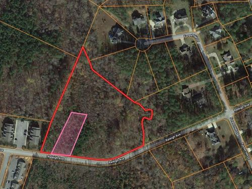 Private Lot Near Kerr Lake, VA : South Hill : Mecklenburg County : Virginia