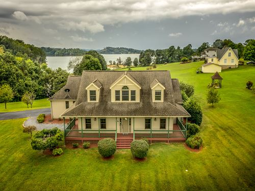 Gorgeous Cherokee Lakefront Home : Bean Station : Grainger County : Tennessee