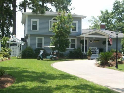 Amazing Unique Custom Home : Bath : Beaufort County : North Carolina
