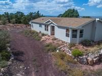 Seligman AZ Solar Country Home : Prescott : Yavapai County : Arizona