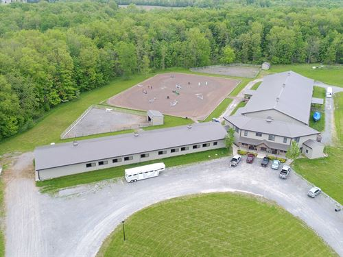 World-Class Equestrian Facility : Farmington : Ontario County : New York