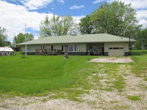 Mo Country Home, Small Acreage : Gorin : Scotland County : Missouri