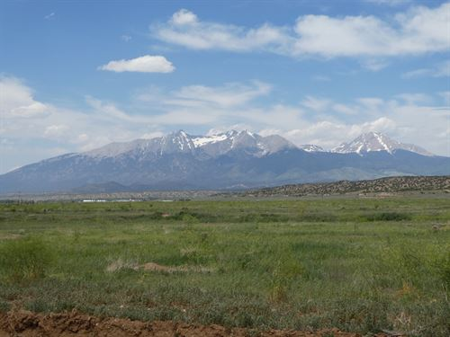 Nice Views From This 5 Acre Lot : Fort Garland : Costilla County : Colorado