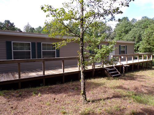 Country Home On 11 Acres : Leslie : Searcy County : Arkansas
