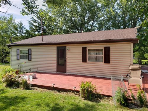 Two Bedroom, Two Bathroom Home Lake : Unionville : Putnam County : Missouri