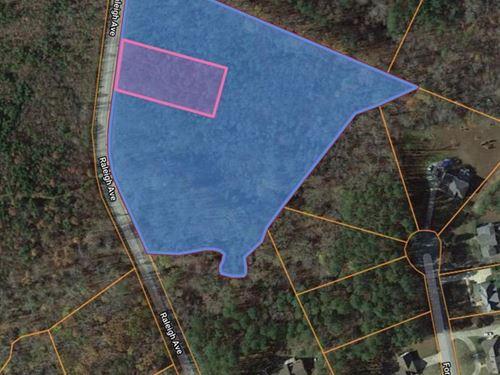 Private Building Lot Kerr Lake, VA : South Hill : Mecklenburg County : Virginia