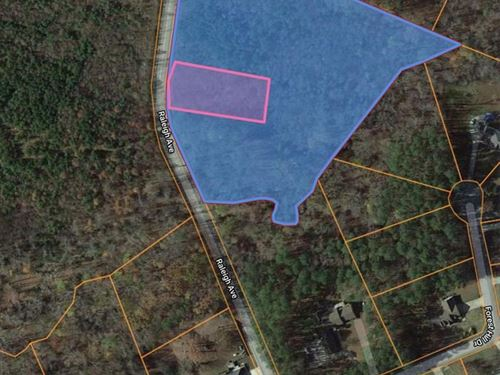 Build Your Home Lot Kerr Lake, VA : South Hill : Mecklenburg County : Virginia