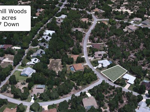 .28 Acre Lot In Sugarmill Woods : Homosassa Springs : Citrus County : Florida