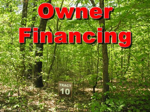 10 Acres Owner Finance : Cleveland : White County : Georgia