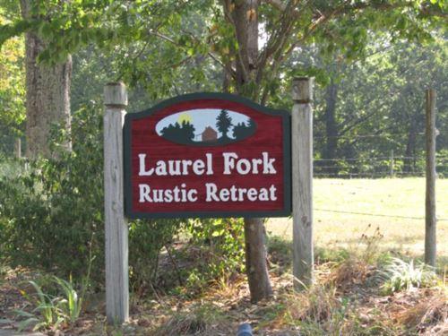 3+ Ac Secured Laurel Fork Est : Jamestown : Fentress County : Tennessee