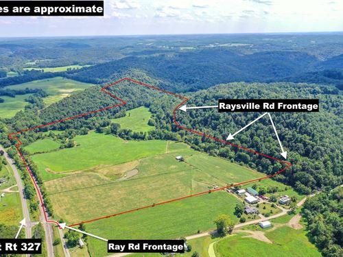 Ray Rd, 70 Acres, Jackson County : Ray : Jackson County : Ohio