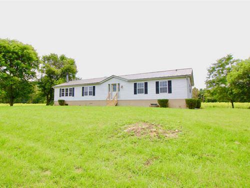 24 +/- Acres, Quaint Home : Milesburg : Centre County : Pennsylvania