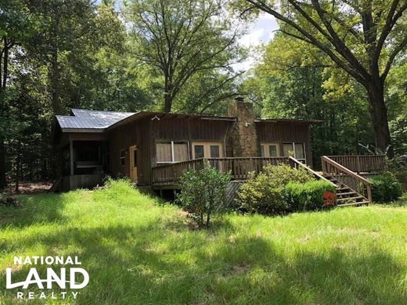 Scoobachita Creek Hunting Camp / Ti : West : Attala County : Mississippi