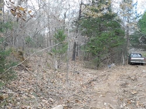 Wooded Lot In Sharp County, Ar : Hardy : Sharp County : Arkansas