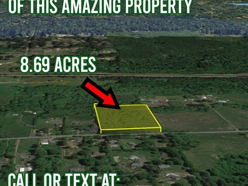 Must Go, Vacant Lot 8.69 Acres : Port Orchard : Kitsap County : Washington