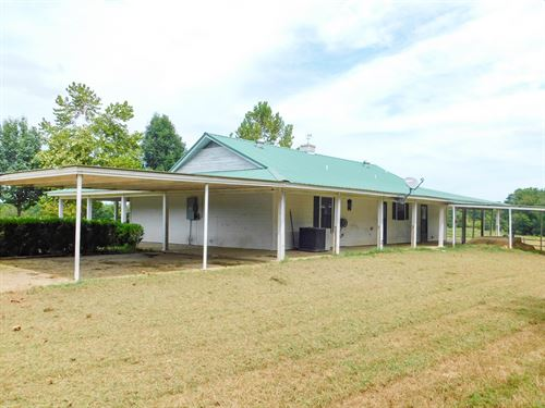 Ranch Home & 80 Acres : Garvin : McCurtain County : Oklahoma