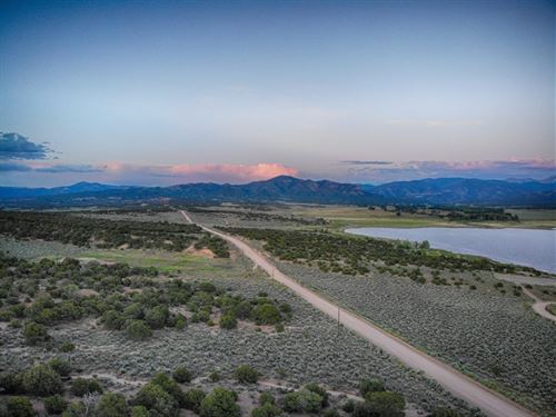 Unbelievable Views From Lakefront : Fort Garland : Costilla County : Colorado