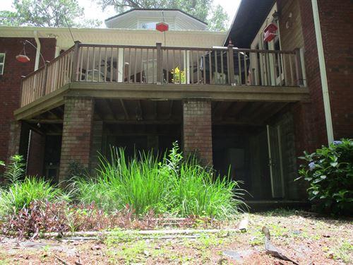Home For Sale in North Florida : Monticello : Jefferson County : Florida