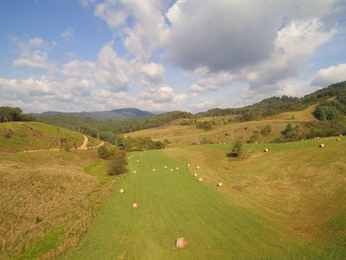 Large Acreage Tract Views Blue : Independence : Grayson County : Virginia