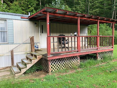Mobile Home 6 Private Acres, Move : Newton : Roane County : West Virginia