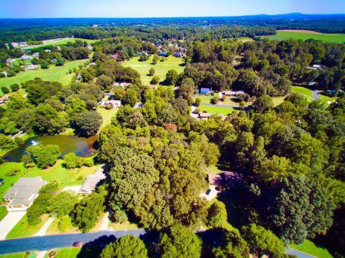 Golf Course Lot Rock Barn Country : Conover : Catawba County : North Carolina