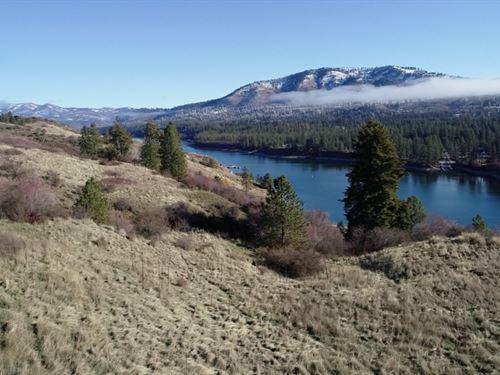 160 Acres Overlooking Spokane River : Fruitland : Stevens County : Washington