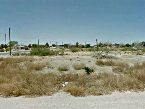 .46 Acres Developing Land For Sale : El Paso : Texas