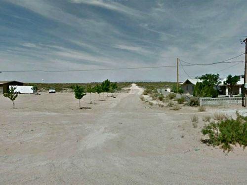 1.04 Acres Of Prime Subdivision : El Paso : Texas