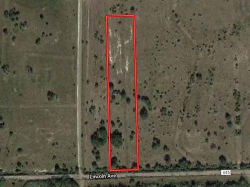 Unrestricted 5 Acres : Francitas : Jackson County : Texas
