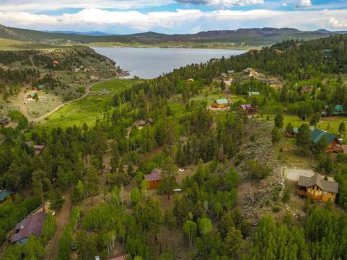 Impressive Panguitch Lake Mountain : Panguitch : Garfield County : Utah
