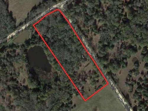 Unrestricted 3.14 Acres : Groesbeck : Limestone County : Texas