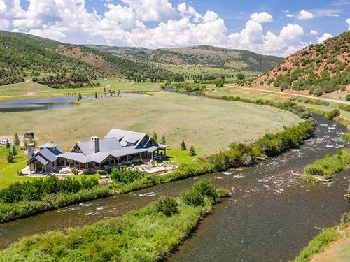 River Terrace Lodge At Elk Creek Ra : Meeker : Rio Blanco County : Colorado