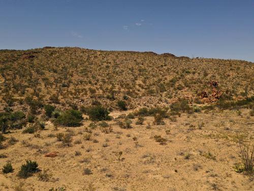 Ocotillo Mesa Lots : Terlingua : Brewster County : Texas