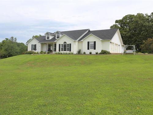Show Place Home Rural West Plains : West Plains : Howell County : Missouri