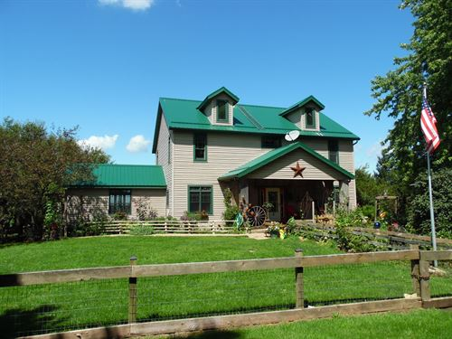 Horse Ranch & Cattle Farm Rock : Rock City : Stephenson County : Illinois