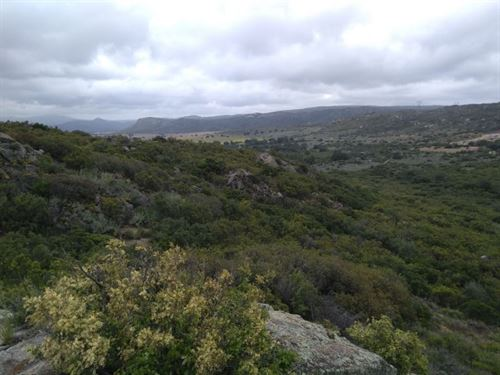 4.35 Acre Property Peaceful Land : Campo : San Diego County : California