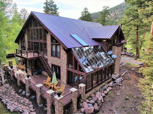 Colorado Waterfront Home For Sale : Antonito : Conejos County : Colorado