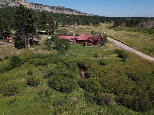 Black Mountain Retreat : Wheatland : Albany County : Wyoming