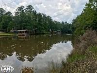 Patsaliga Creek Point A Lake River : Red Level : Covington County : Alabama