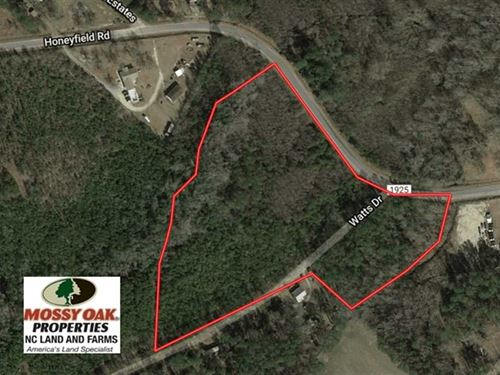 Under Contract, 11 Acres of Resi : Whiteville : Columbus County : North Carolina