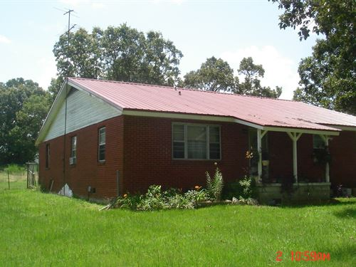 Home 51 Acres 8080 Hwy 397 : Louisville : Winston County : Mississippi
