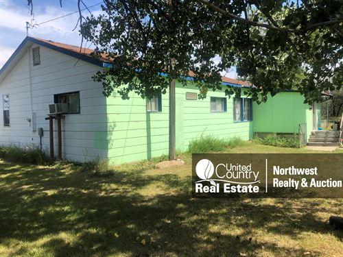 Dodson MT Home & Acreage Shop : Dodson : Phillips County : Montana