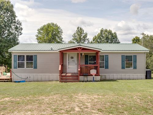 Country Mobile Homes, Acreage : Hohenwald : Lewis County : Tennessee