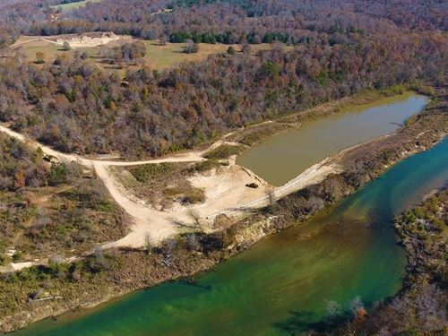 River Home, Private Lake, Income : Tecumseh : Ozark County : Missouri