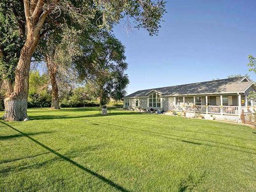 Home, Adjacent to Cobble Creek : Montrose : Colorado