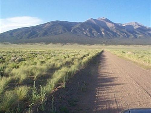 5 Acs B/W Mountains In Costilla Co : Blanca : Costilla County : Colorado
