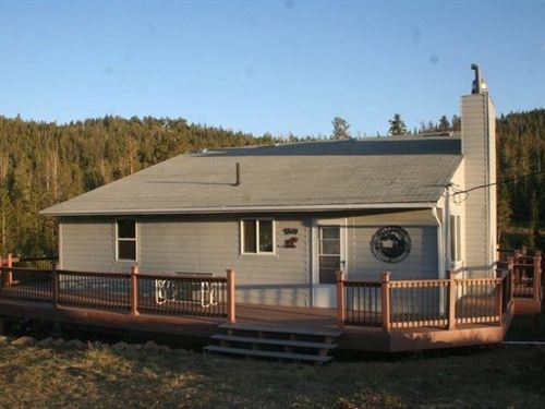 Crystal Lakes Mountain Home : Red Feather Lakes : Larimer County : Colorado