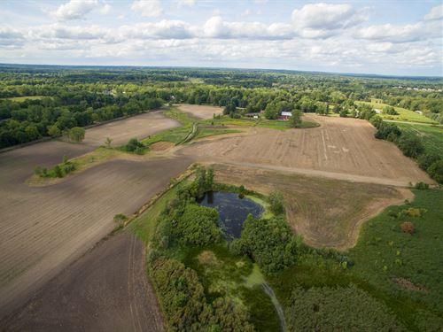 Estate Size Vacant Land For Sale : Dexter : Washtenaw County : Michigan