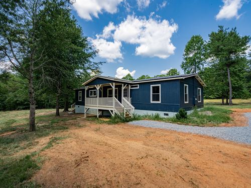 Renovated 3Br On 3.5 Acres : Madison : Morgan County : Georgia
