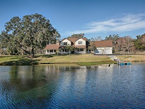 125+ Acre Horse Farm : Oxford : Sumter County : Florida
